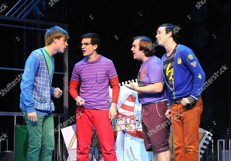 'Loserville' - Richard Lowe as Lucas, Aaron Sidwell as Michael, Daniel Buckley as Marvin and Lil' Chris as Francis,