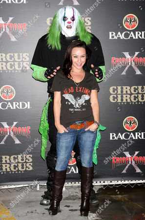 Danielle Harris and scary character