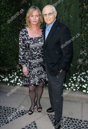 Lyn Davis and Norman Lear