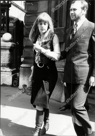 Jenny Boyd Model On Drugs Charges At Bow Street 1968.