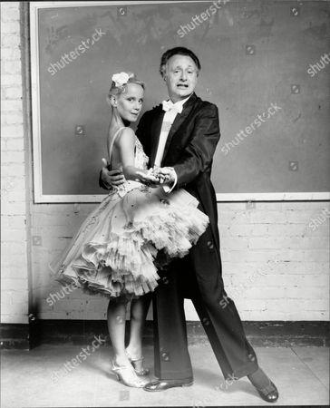 Paul Eddington And Georgina Hale In The Play Lovers Dancing.