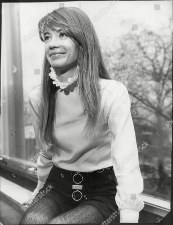 Francoise Hardy French Pop Singer.