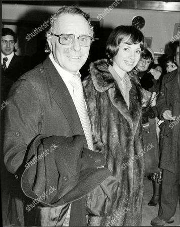 Dickie Henderson (dead September 1985) And Wife Gwyneth.