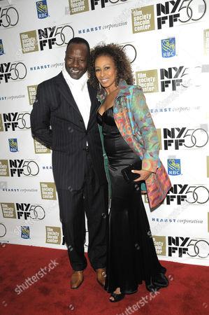 Tamara Tunie with husband Gregory Generet