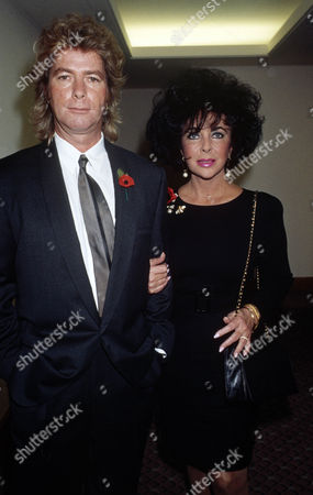 Larry Fortensky and Elizabeth Taylor