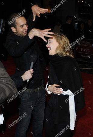Brandon Cronenberg and Sarah Gadon