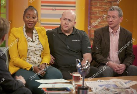 Editorial image of 'Daybreak' TV Programme, London, Britain - 15 Oct 2012
