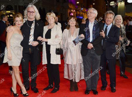 Sheridan Smith, Billy Connolly, Dame Maggie Smith, Pauline Collins, Tom Courtenay, Dustin Hoffman and Dame Gwyneth Jones