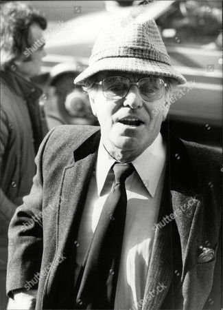 Editorial image of Dickie Henderson (dead September 1985) At The Chesney Allen Memorial Service.