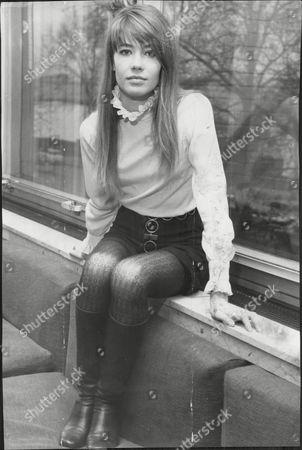 Francoise Hardy French Pop Star.