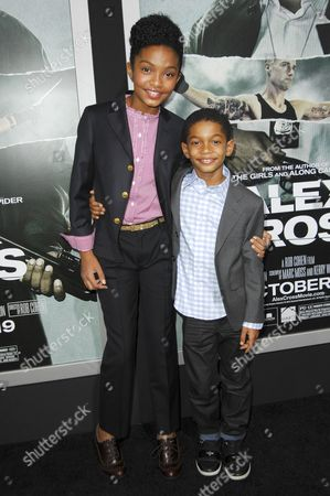 Yara Shahidi and brother Sayeed Shahidi