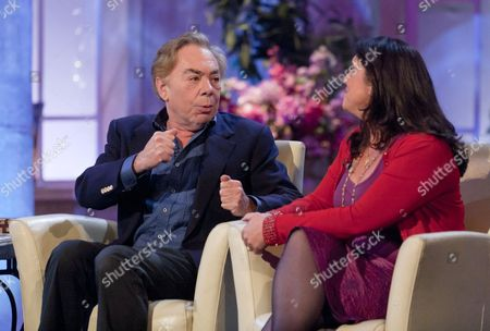 Sir Andrew Lloyd Webber and Bettany Hughes
