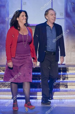 Bettany Hughes and Sir Andrew Lloyd Webber