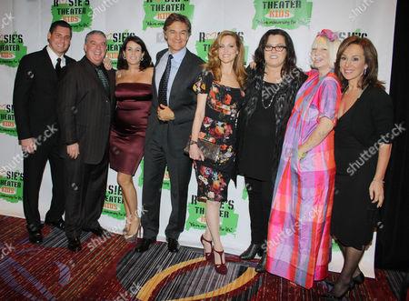 Elvis Duran, Lisa Oz, Dr Mehmet Oz, Michelle Rounds, Rosie O'Donnell, Sia Furler and Rosanna Scotto