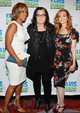 Gayle King, Rosie O'Donnell and Michelle Rounds