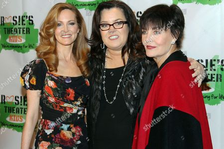 Michelle Rounds, Rosie O'Donnell and Linda Dano