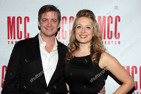 Editorial picture of 'Don't Go Gentle' play opening night at the MCC Theater , New York, America - 15 Oct 2012