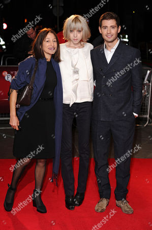 Stock Photo of Janine Marmot, Antonia Campbell-Hughes and Julian Morris