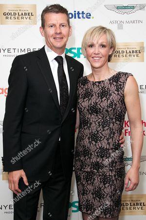 Stock Image of Steve Cram and Allison Curbishley