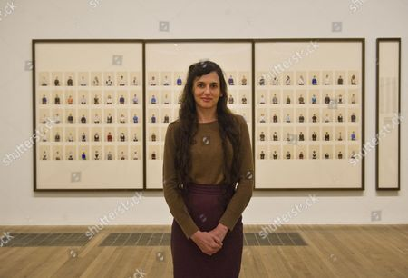 Photographer Taryn Simon At Her Exhibition At Tate Modern.