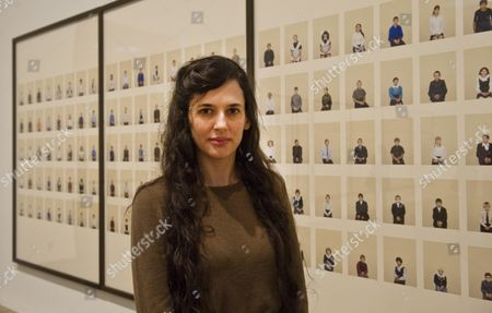 Photographer Taryn Simon At Her Exhibition At Tate Modern. Picture By Glenn Copus.