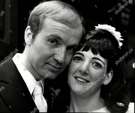 Donald Douglas Marries Fellow Actor Angela Galbraith At St Giles In The Fields Wc2 1968.