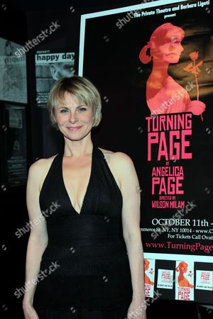 Stock Image of Angelica Page