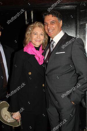Stock Picture of Maria Cooper Janis and Robert Cuccioli