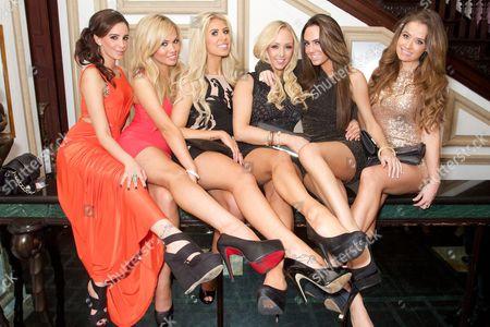 Ella Jolie, Sara Beverley Jones, Khloe Perry, Danni King, Jamie Jenkins and Jess Impiazzi