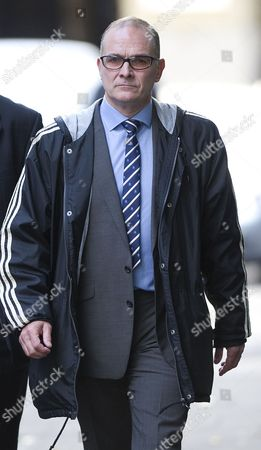Editorial image of PC Alex Macfarlane at Southwark Crown Court, London, Britain - 16 Oct 2012