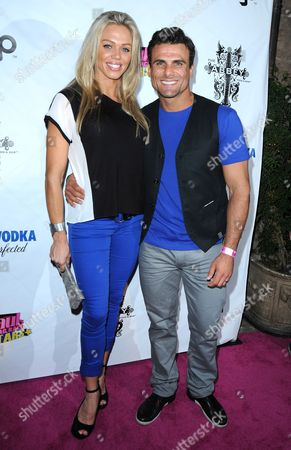 Stock Picture of Kimberly Stevens and Jeremy Jackson