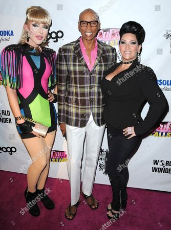 Chad Michaels, Rupaul and Michelle Visage