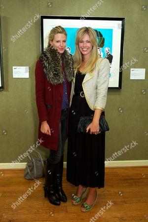 Olivia Hunt and Marina Fogle