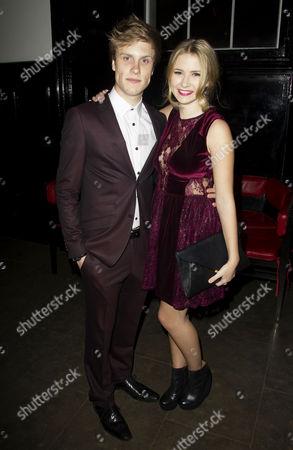 Richard Lowe (Lucas Lloyd) and Eliza Hope Bennett (Holly Manson)