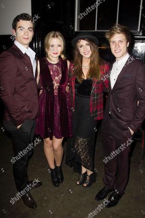 Stewart Clarke (Eddie Arch), Charlotte Harwood (Leia Dawkins), Eliza Hope Bennett (Holly Manson) and Richard Lowe (Lucas Lloyd)