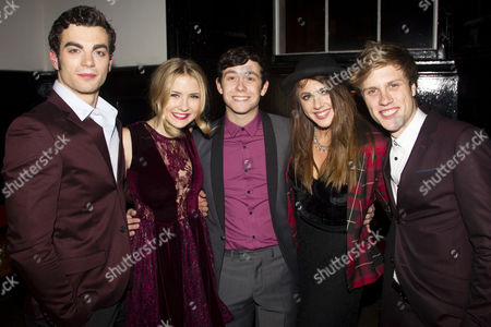 Stewart Clarke (Eddie Arch), Charlotte Harwood (Leia Dawkins), Lil' Chris (Francis Weir), Eliza Hope Bennett (Holly Manson) and Richard Lowe (Lucas Lloyd)