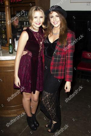 Eliza Hope Bennett (Holly Manson) and Charlotte Harwood (Leia Dawkins)