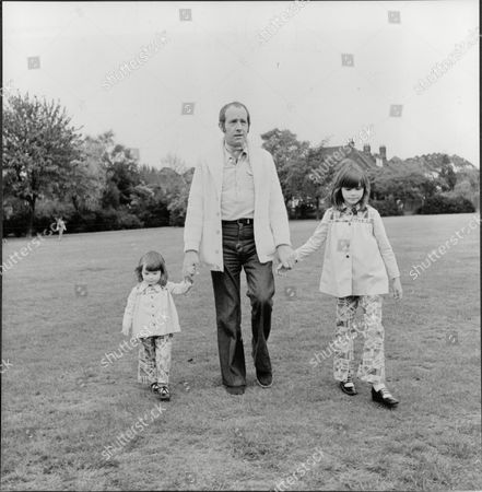 Actor Ian Hendry (dead December 1984) And Children Corrie Two And Sally Nine.