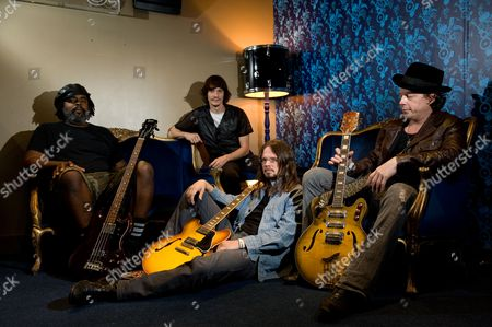 Stock Picture of Alvin Youngblood Hart and Cody Dickinson and Luther Dickinson and Ian Siegal