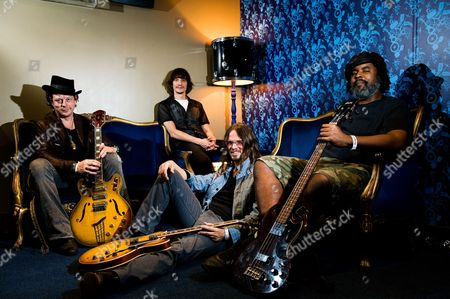 Stock Image of Ian Siegal Cody Dickinson Luther Dickinson Alvin Youngblood Hart