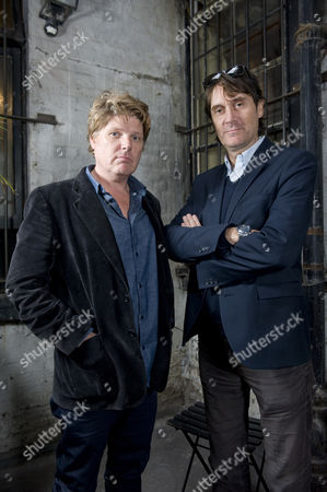 Stock Image of Rob Wade and Neal Purvis