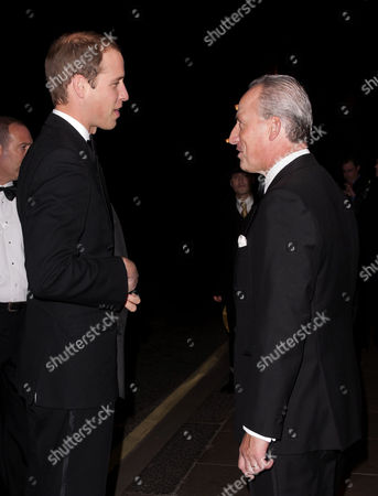 Prince William and Kiaran MacDonald