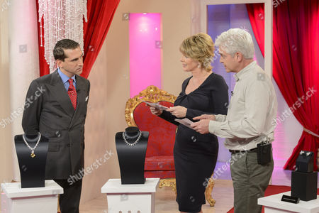 James Sherwood with Ruth Langsford and Phillip Schofield