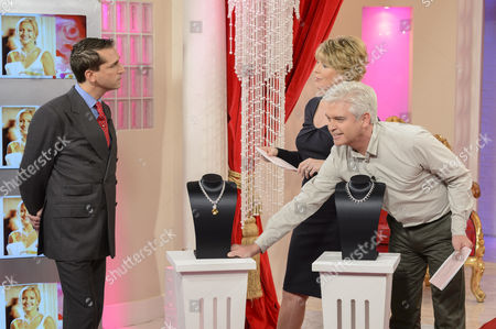 Editorial picture of 'This Morning' TV Programme, London, Britain - 18 Oct 2012