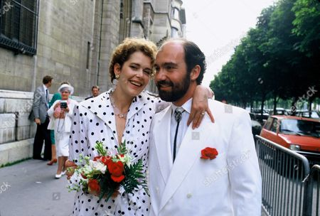Sylvia Kristel and Philippe Blot