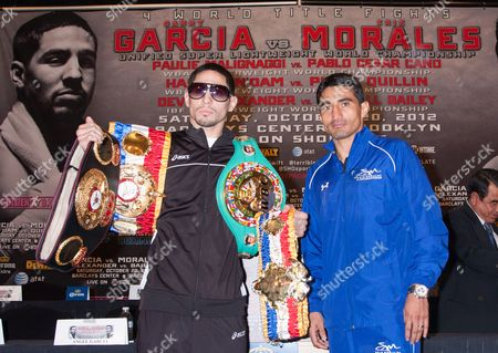 Unified Super Light Weight World Champion Danny Garcia and Erik Morales