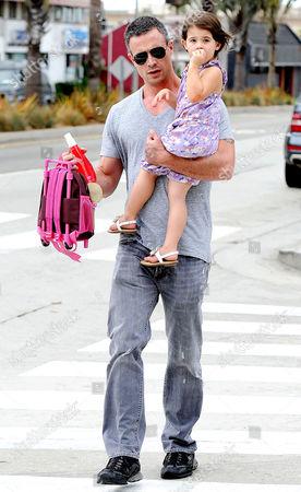 Freddie Prinze Jnr with daughter Charlotte Grace Prinze