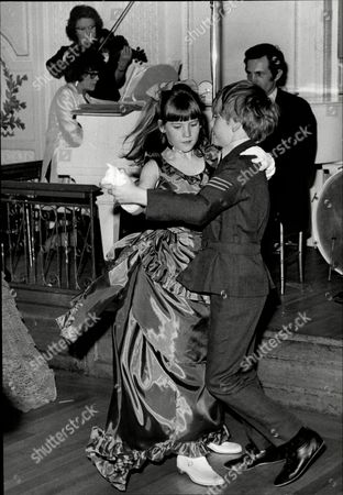 Natalia Phillips Granddaughter Of Lady Zia Wernher Dancing With Jaspar Jacobs Son Of Actress Kathleen Byron At Annual Party In Aid Of The League Of Pity.