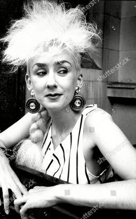 Muriel Grey Tv Presenter 1985.