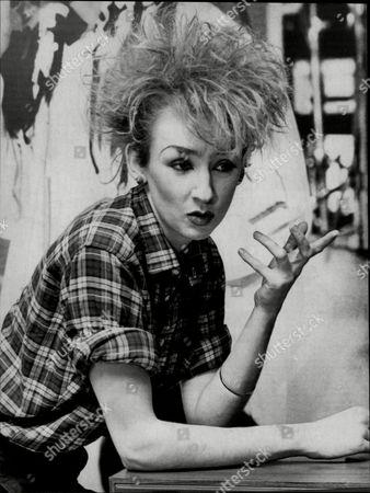 Muriel Grey Tv Presenter 1983.